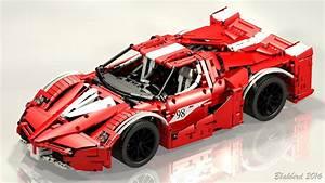 Lego Technic Ferrari : lego moc 5902 ferrari fxx supercharged v12 red technic 2016 rebrickable build with lego ~ Maxctalentgroup.com Avis de Voitures
