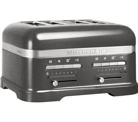 Buy Kitchenaid 5kmt4205bms Artisan 4slice Toaster