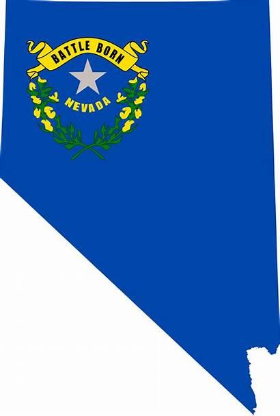 Nevada Map Svg Flag State Osha Training