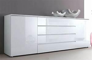Buffet Bas Blanc : buffet bas laque blanc ikea ~ Teatrodelosmanantiales.com Idées de Décoration