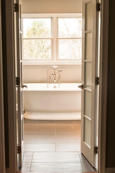 Modern Bathroom Door by Peek A Boo Doors Someday Home Glass Bathroom Bathroom