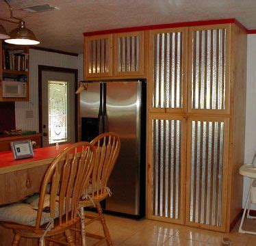 kitchen cabinets with tin   Please click on the Thumbnails