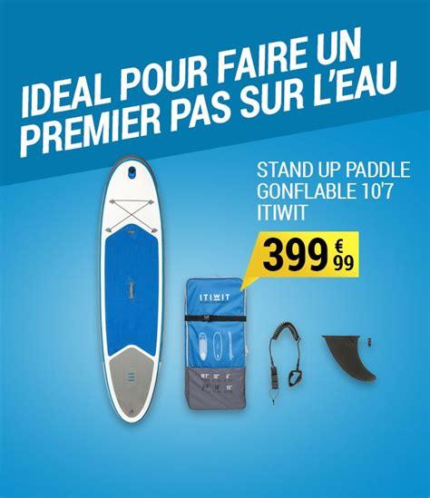 sup gonflable 10 7 bleu itiwit pas cher stand up paddle decathlon ventes pas cher