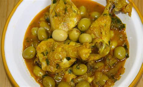 recette de cuisine cuisse de poulet recette tajine de poulet aux olives recette marocaine