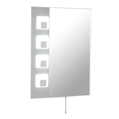 tiling in bathroom gemini illuminated mirror 14759