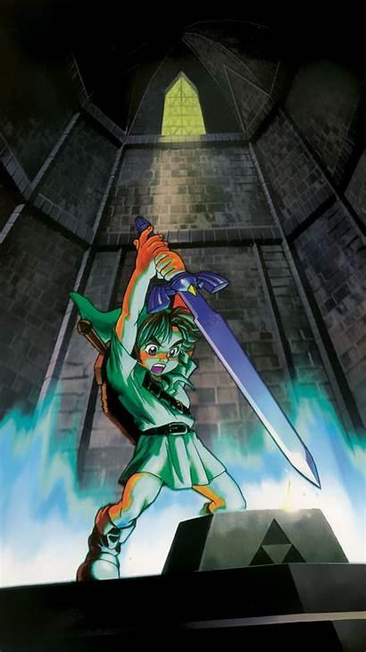 Zelda Phone Legend Ocarina Wallpapers Mobile Wallpapersafari