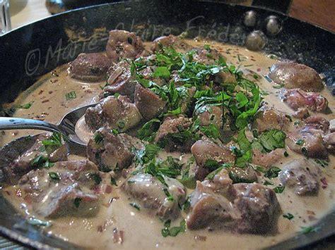 cuisiner rognons comment cuisiner rognons de veau