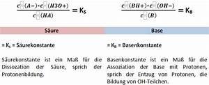 Ph Wert Berechnen Aufgaben Mit Lösungen : herleitung der parameter massenwirkungsgesetz ~ Themetempest.com Abrechnung