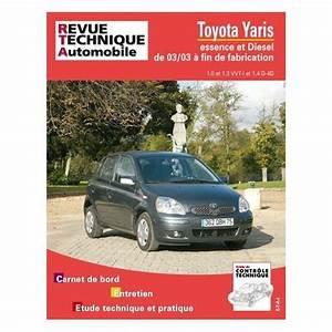 Toyota Yaris Essence : revue technique toyota yaris neuf occasion num rique pdf ~ Gottalentnigeria.com Avis de Voitures