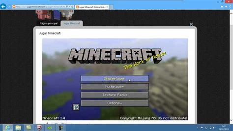 Jugar Minecraft Online Gratis Sin Descargar Nada