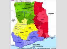 Hisatlas Map of GhanaTogo 1914