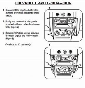 2004 Chevrolet Aveo Installation Parts  Harness  Wires