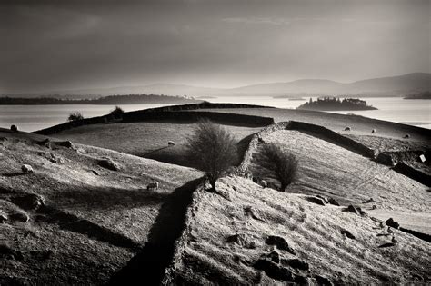 Irish Landscape Black And White  George Karbus Photography