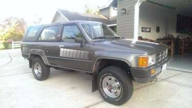 1985 Toyota 4runner For Sale by 1985 Toyota 4runner Sr5 Black For Sale Used Cars For Sale