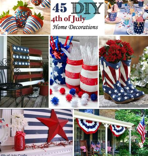 July Home Decorations