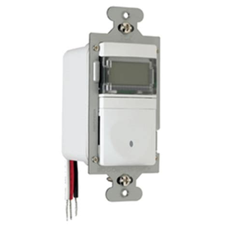 light switch timer lowes shop legrand white combination timer decorator light