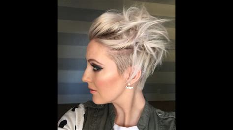 Quick Messy Short Hairstyle