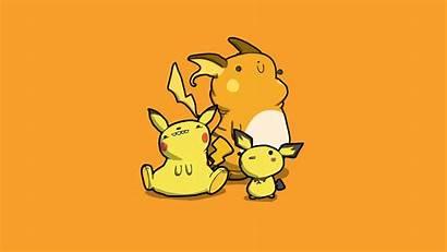 Pikachu Wallpapers Computer Pichu Raichu Mon Poka