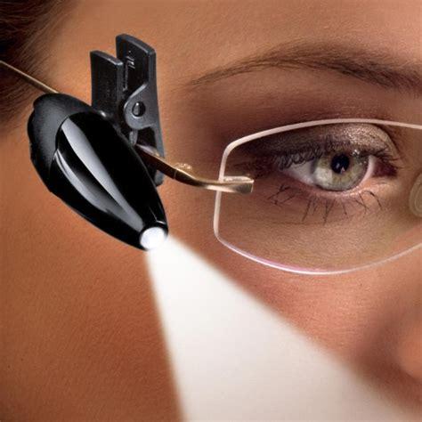 clip on reading light clip on led reading light for glasses