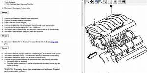 Removing Starter 1996 Oldsmobile Aurora