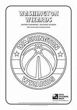Coloring Nba Pages Logos Teams Basketball Cool Washington Wizards Warriors Lakers Golden State Easter Blazers Trail Portland Printable Team Clubs sketch template