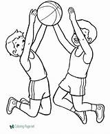 Coloring Sports Pages Below Printable sketch template