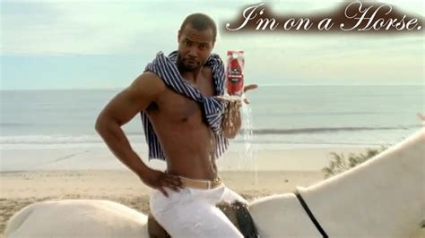 Old Spice Meme - i m on a horse isaiah mustafa old spice know your meme