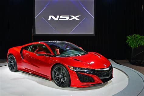 Next Generation Acura Nsx Unveiled