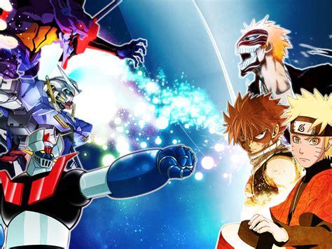 Anime Mix Wallpaper - wallpaper anime mix by kaiser093 on deviantart