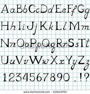 cursive letters lowercase and uppercase sample letter With cursive letters upper and lower case