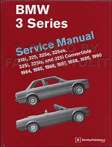 1989 Bmw 325i  325is Electrical Troubleshooting Manual