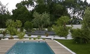 Massif Autour Piscine : massif exotique piscine quelles plantes pour un massif de bord de piscine monjardin am ~ Farleysfitness.com Idées de Décoration