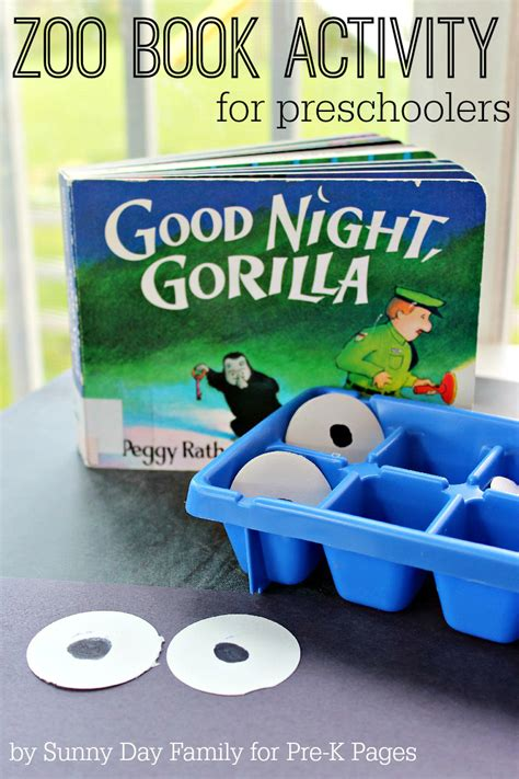 book activities pre k pages 452 | Goodnight Gorilla 800