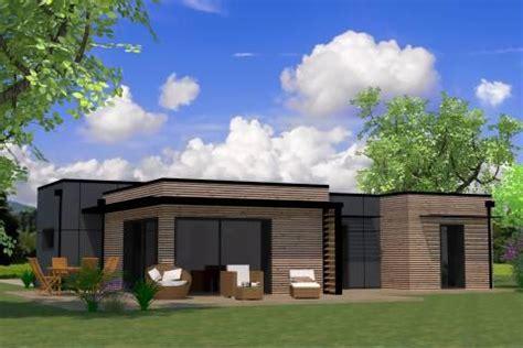 maison plain pied 3 chambres des plans des idées maison bois arcadial
