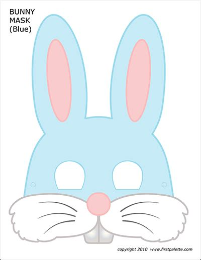 bunny chain template  printable templates coloring