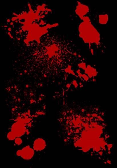Blood Splatter Vampire Foreshadowing Powers Newel Jan