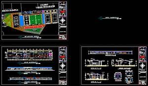 Sports Complex 2D DWG Design for AutoCAD • Designs CAD