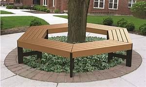 tree hugger benches barco products With katzennetz balkon mit garden bench