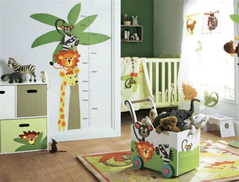chambre bebe jungle deco chambre bebe garcon jungle