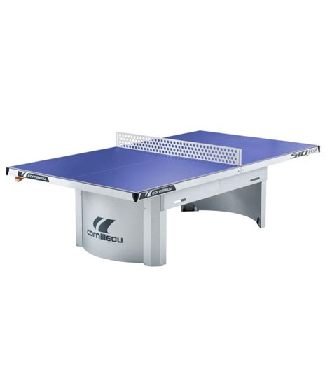 cornilleau 510 m outdoor bleu table ping pong exterieur silver equipment