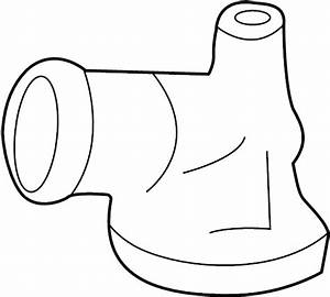 Lincoln Blackwood Engine Coolant Thermostat Housing