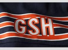What does the GSH stand for on the Chicago Bears uniform?