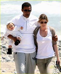 Ellen Pompeo: Stella is a Beach Baby! - Ellen Pompeo Photo ...