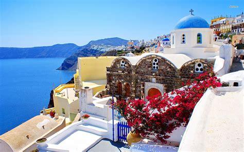 Santorini Greece Wallpaper 1069563