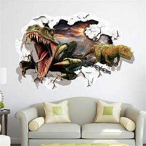 Wall decal nice ideas dinosaur decals for walls jurassic for Nice ideas dinosaur decals for walls