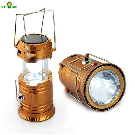 cing lantern led solar rechargeable c torch light flashlights emergency l power bank
