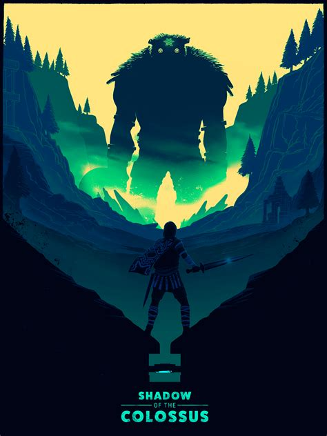 Shadow Of The Colossus Fan Art On Behance