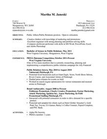 resume template pdf free sle resume format for beginners