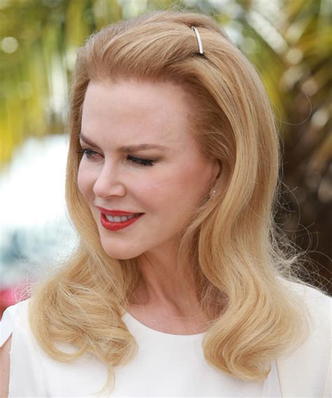 nicole kidman long straight formal hairstyle light