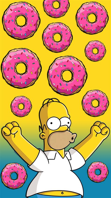 Download Our HD Homer Simpson Donuts Wallpaper For Android